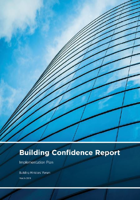 Building confidence report